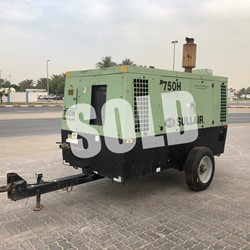 2012 Sullair 750HDPQ CA3 Portable Air Compressor