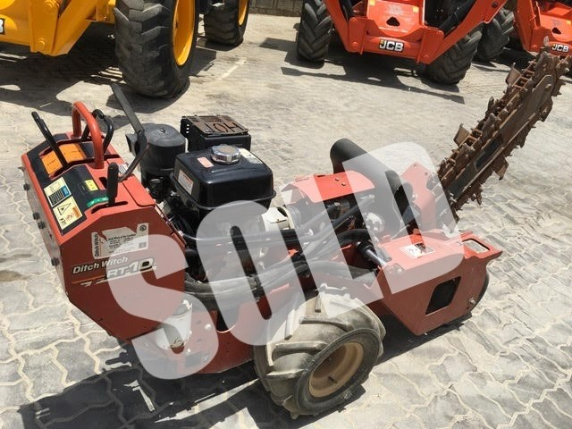 2010 Ditch Witch RT10 Trencher